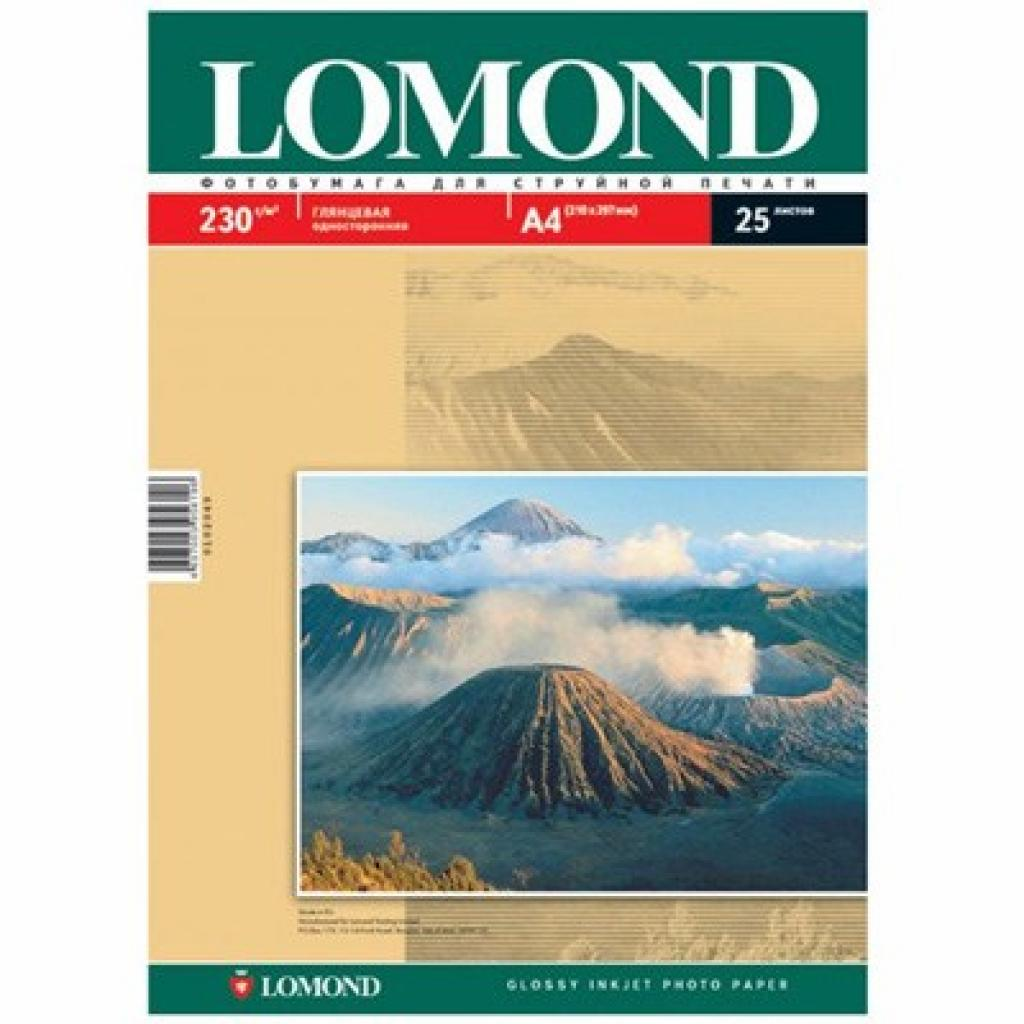 Бумага Lomond A4 Photo Paper Glossy 230 (102049)