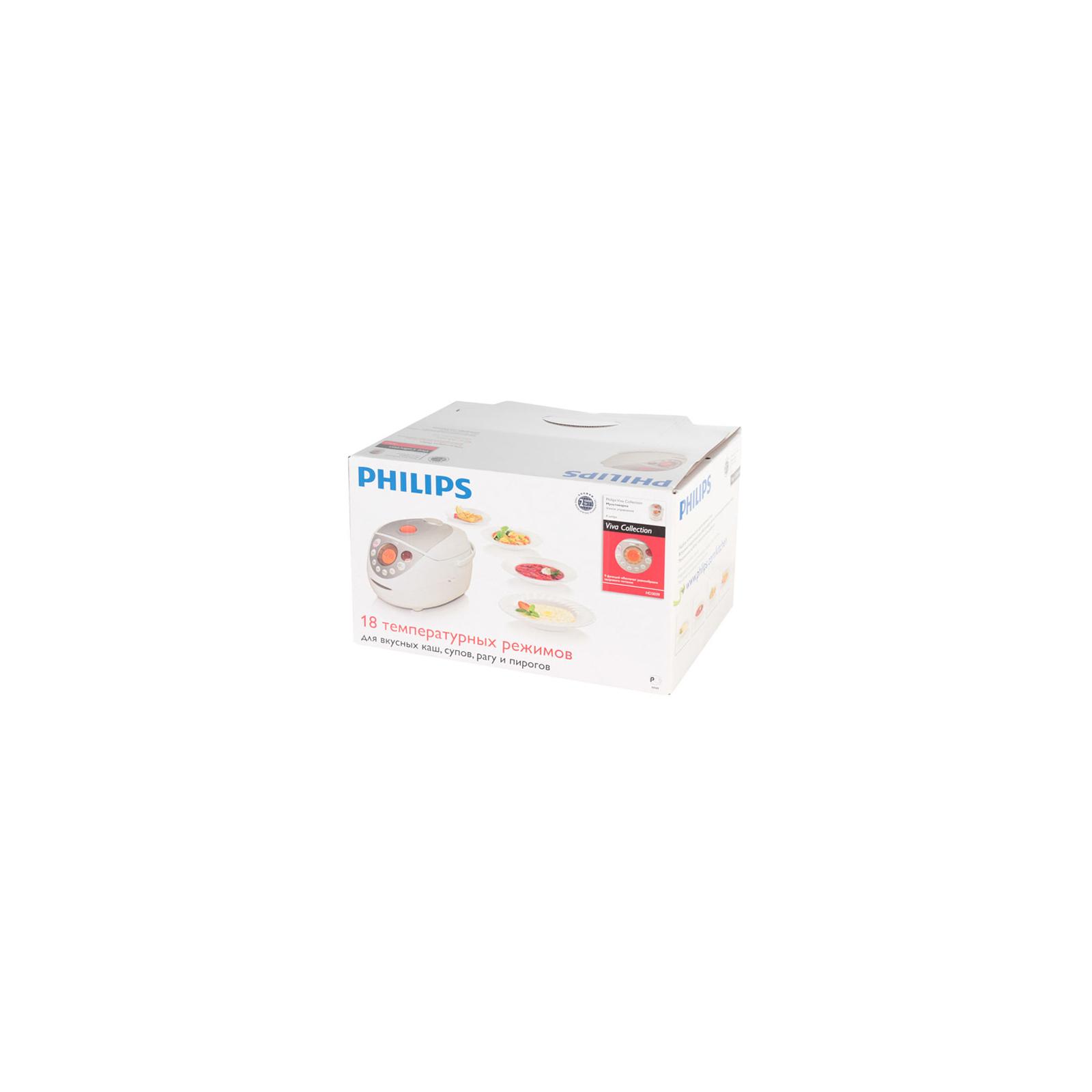 Мультиварка PHILIPS HD 3039/40 (HD3039/40) изображение 6