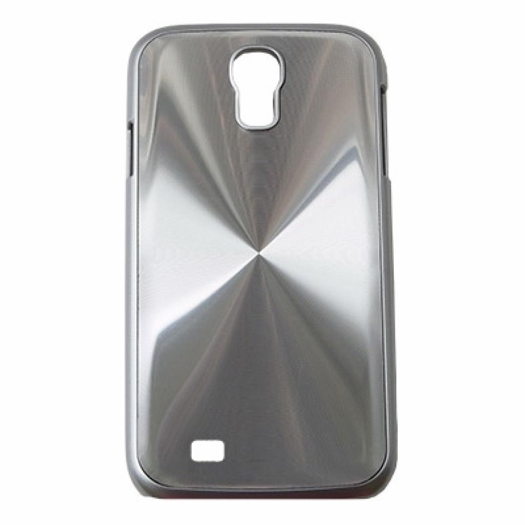 Чехол для моб. телефона Drobak для Samsung I9500 Galaxy S4/Aluminium Panel/Silver (215224)