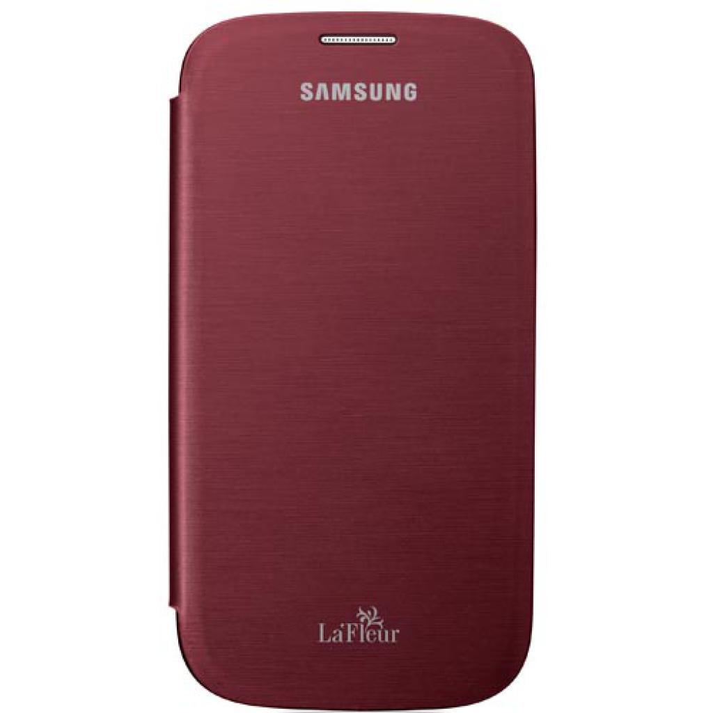 Чехол для моб. телефона Samsung I9300 Galaxy S3(LaFleur)/Red (La Fleur)/Flip Cover (EFC-1G6RREGSER) изображение 2