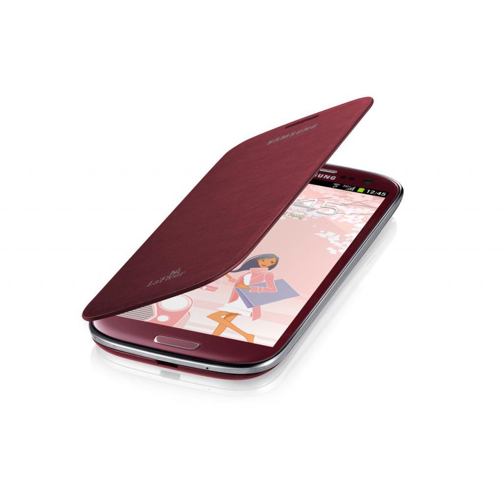 Чехол для моб. телефона Samsung I9300 Galaxy S3(LaFleur)/Red (La Fleur)/Flip Cover (EFC-1G6RREGSER) изображение 3