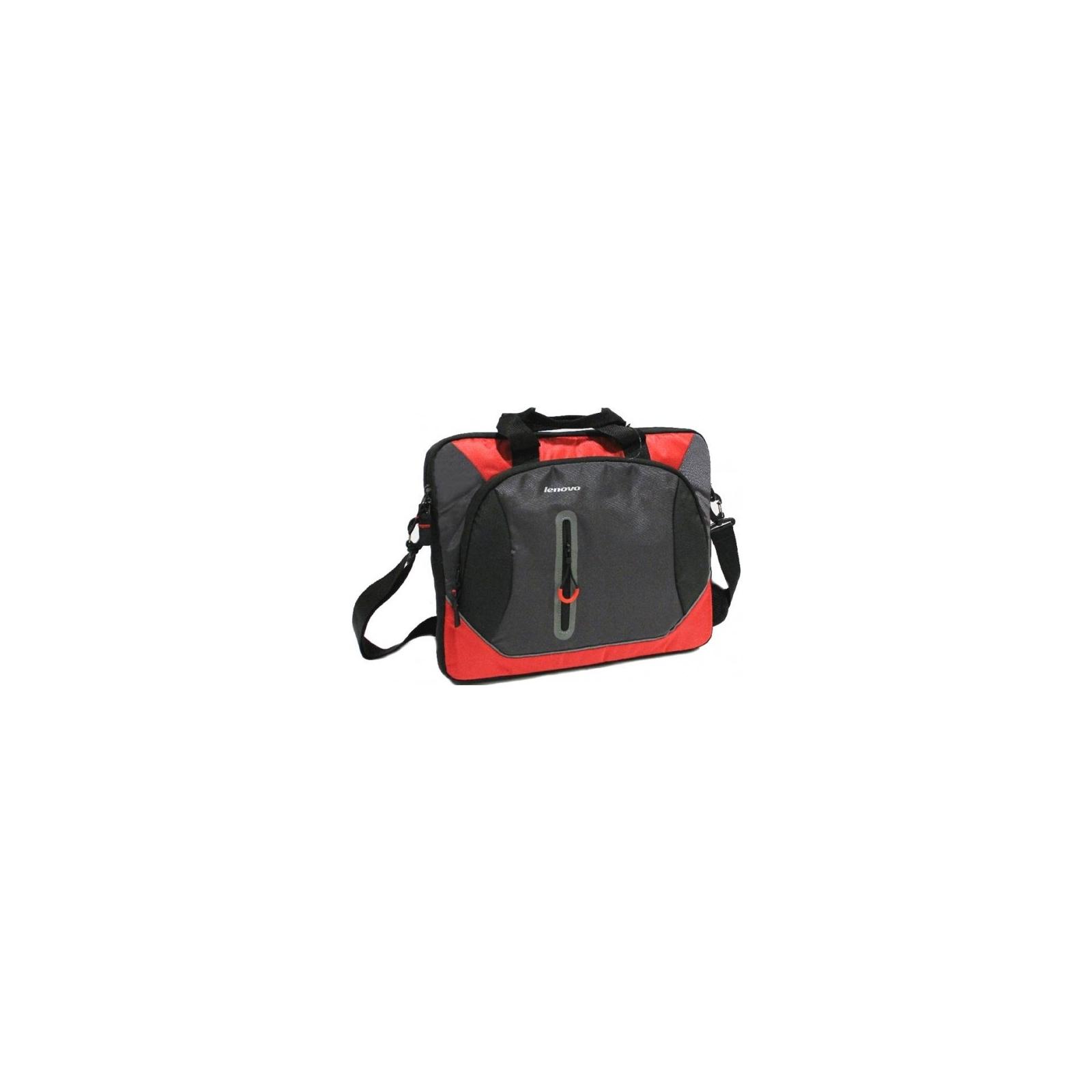 Сумка для ноутбука Lenovo 15.6 Sport Slimcase Red (0A33897) изображение 2