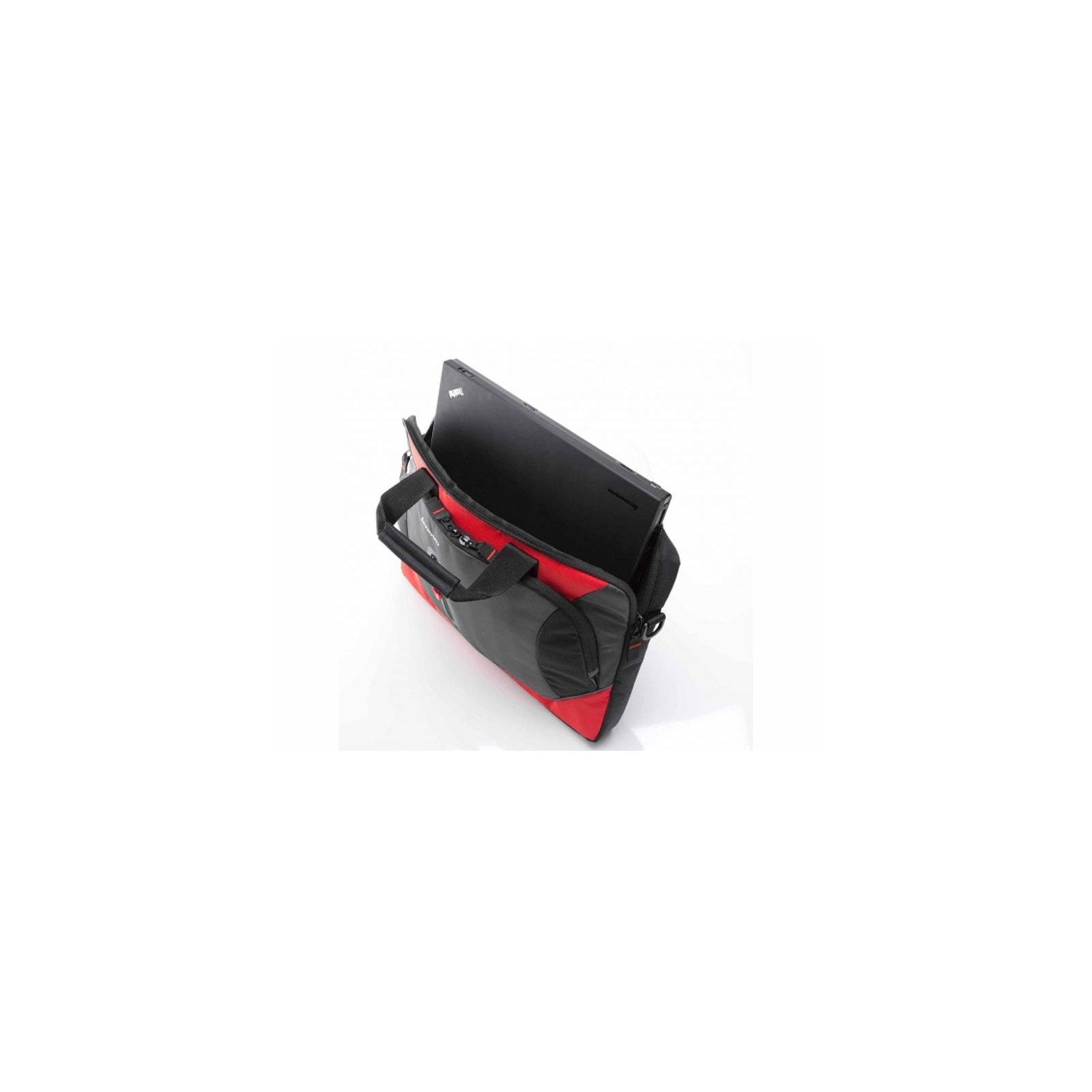 Сумка для ноутбука Lenovo 15.6 Sport Slimcase Red (0A33897) изображение 4