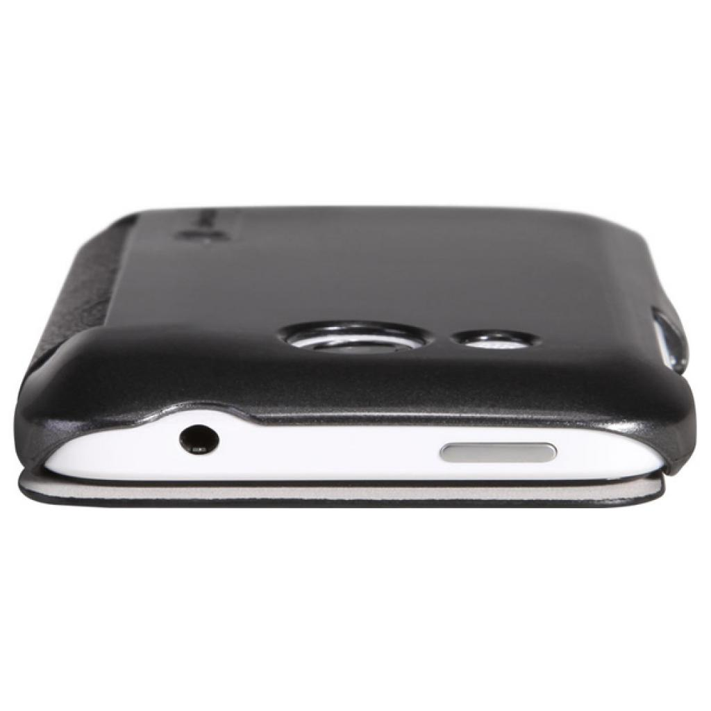 Чехол для моб. телефона NILLKIN для HTC Desire 200 /Fresh/ Leather/Black (6076825) изображение 2