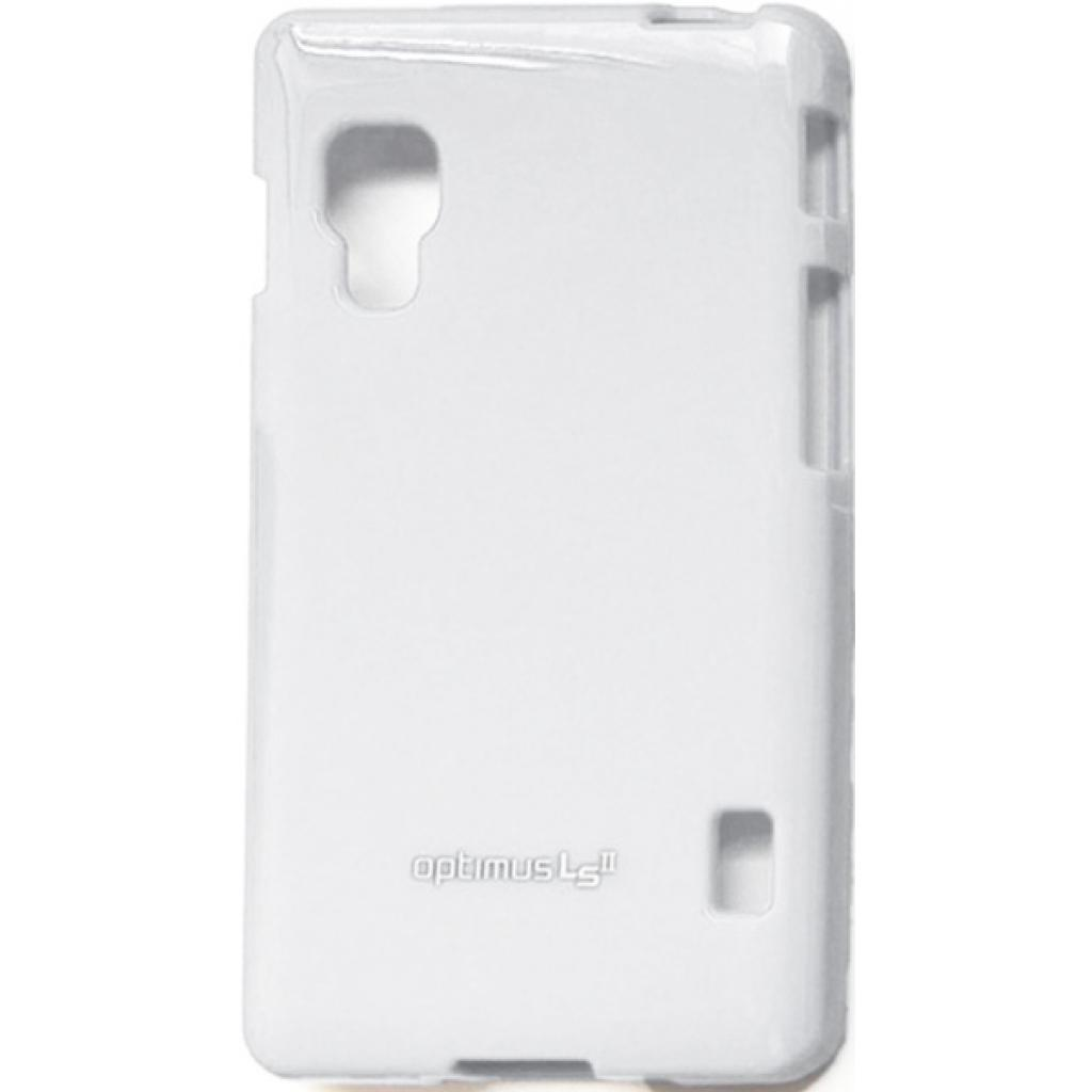 Чехол для моб. телефона VOIA для LG E450 Optimus L5II /Jelly/White (6068200)