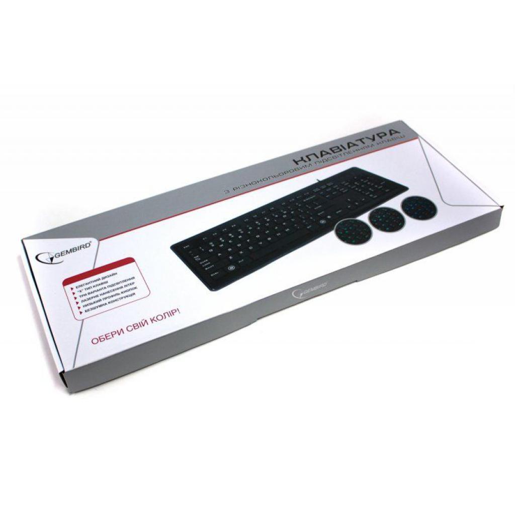 Клавиатура GEMBIRD KB-6250LU-W-UA изображение 4