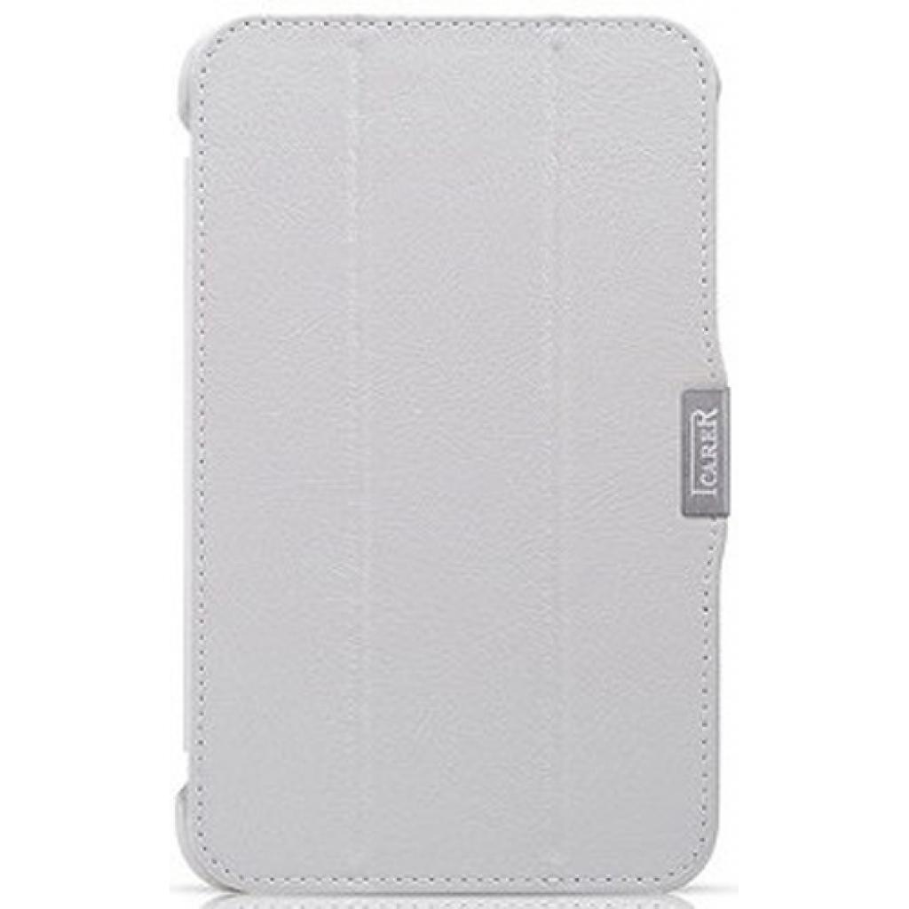 Чехол для планшета i-Carer Samsung Galaxy Tab3 T2100/P3200 7.0 white (RS320001WH)