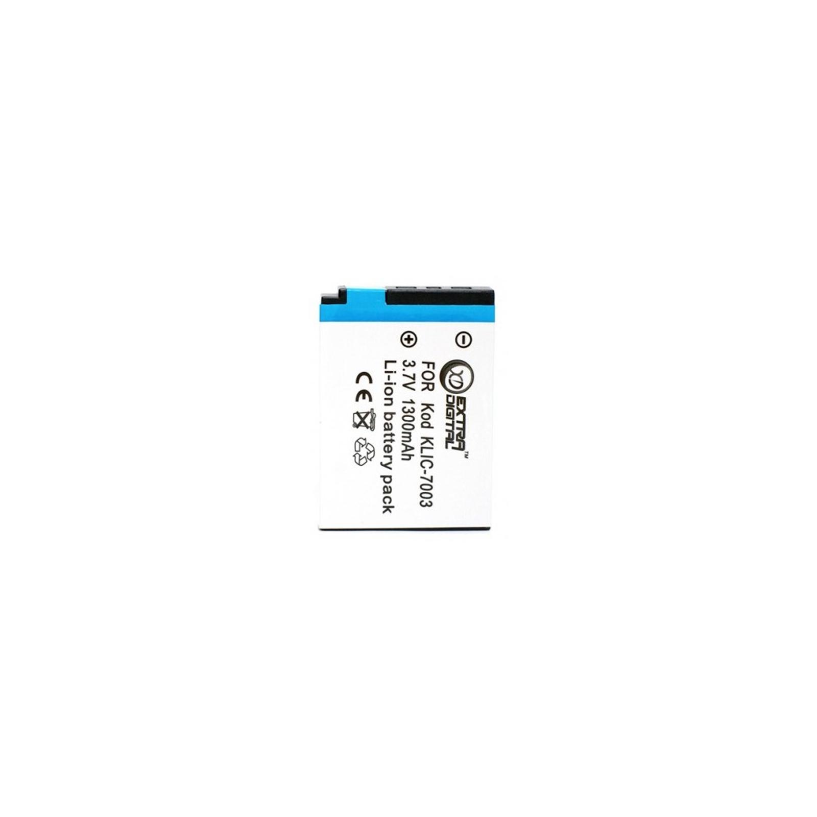Аккумулятор к фото/видео EXTRADIGITAL Kodak KLIC-7003 (DV00DV1220)