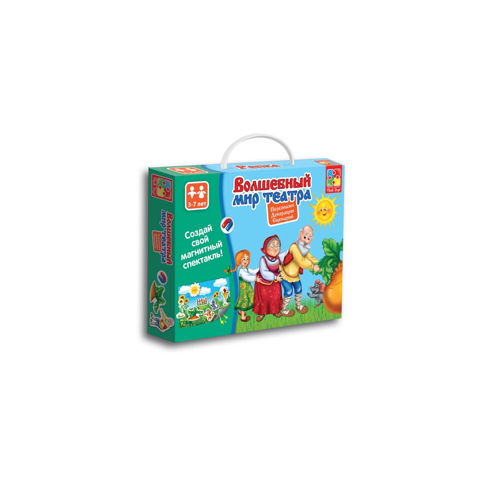 Настольная игра Vladi Toys Волшебный мир театра Репка (VT3207-04)