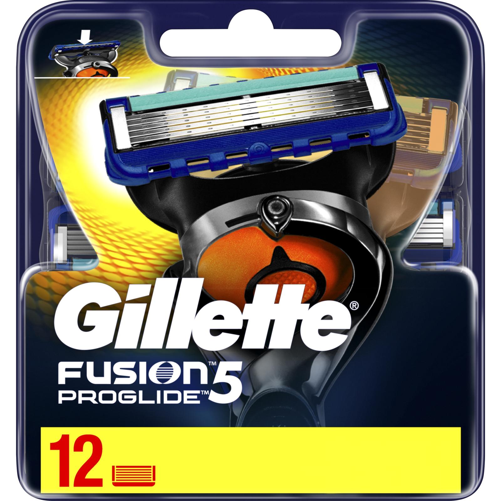 Сменные кассеты Gillette Fusion ProGlide 12 шт (7702018085934) изображение 2