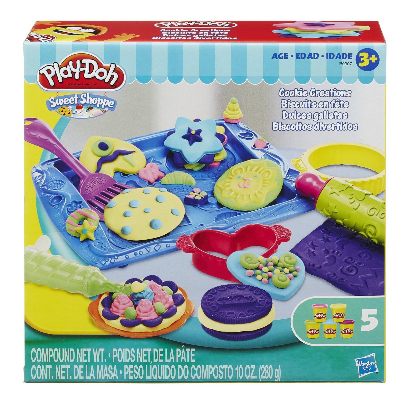 """Набор для творчества Hasbro Play-Doh Игровой набор """"Магазинчик печенья"""" (B0307)"""