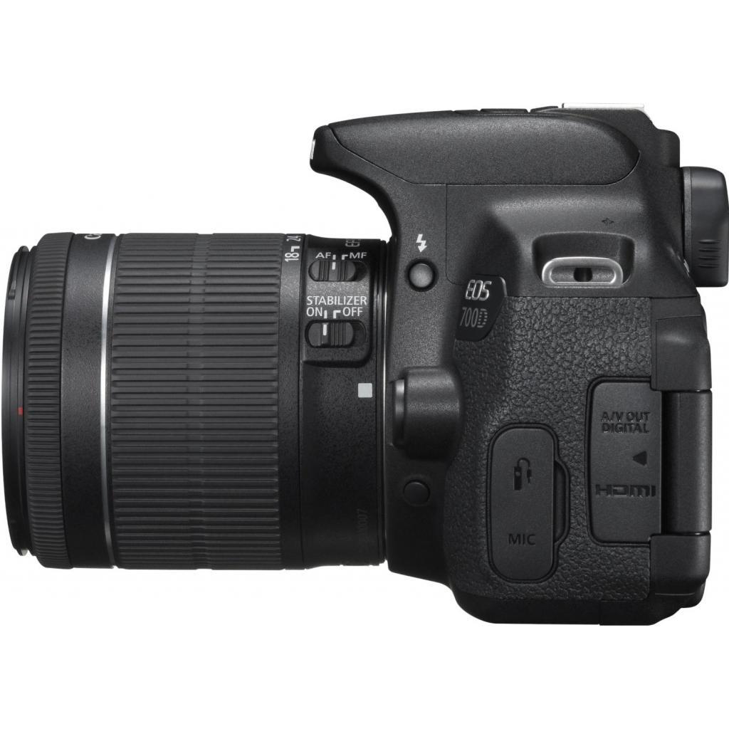 Цифровой фотоаппарат Canon EOS 700D + объектив 18-55 STM + объектив 55-250mm STM (8596B087) изображение 5