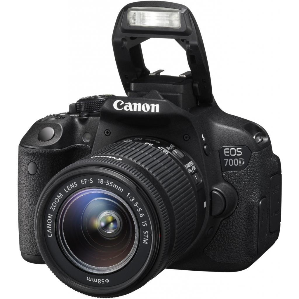 Цифровой фотоаппарат Canon EOS 700D + объектив 18-55 STM + объектив 55-250mm STM (8596B087) изображение 7
