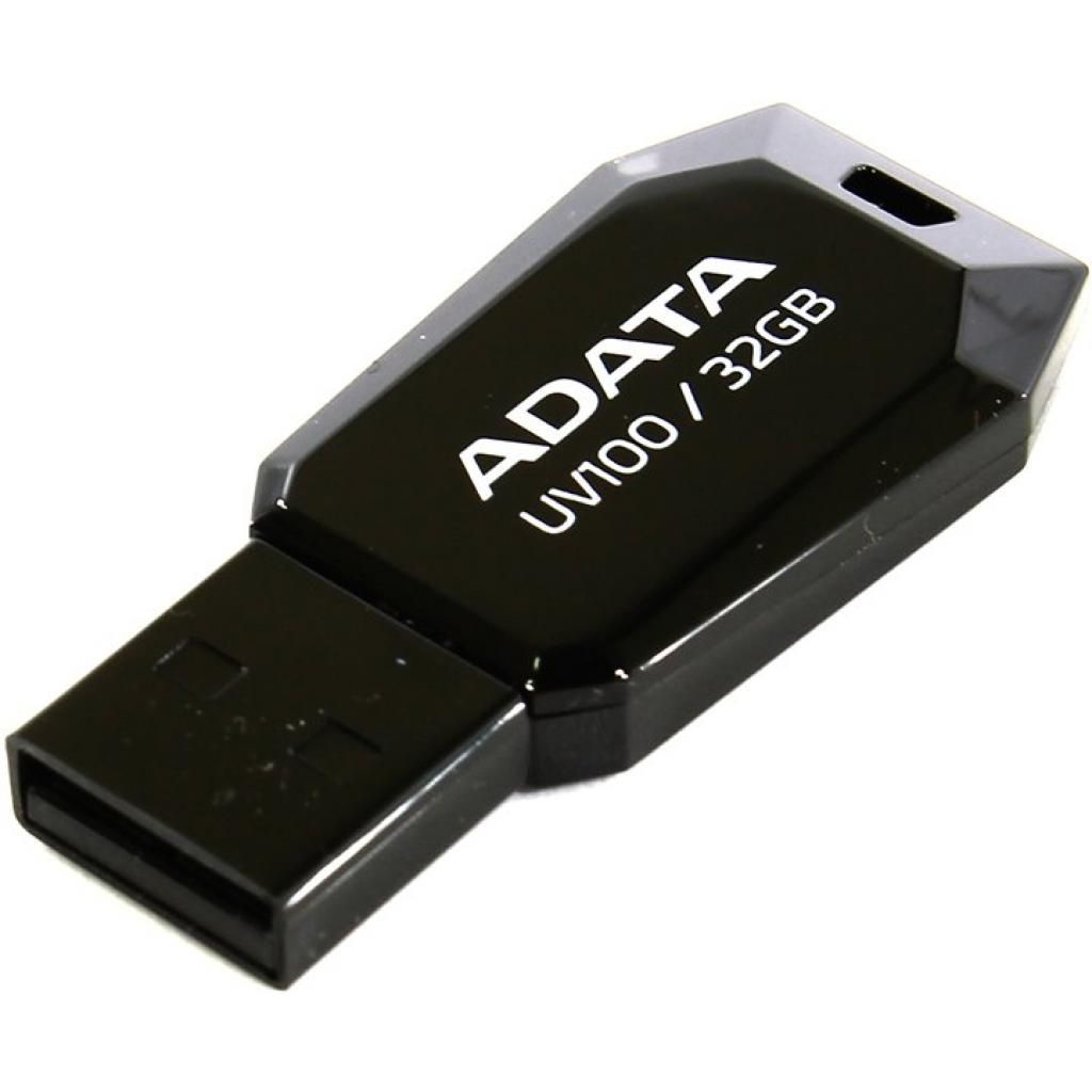 USB флеш накопитель ADATA 32GB DashDrive UV100 Blue USB 2.0 (AUV100-32G-RBL) изображение 2