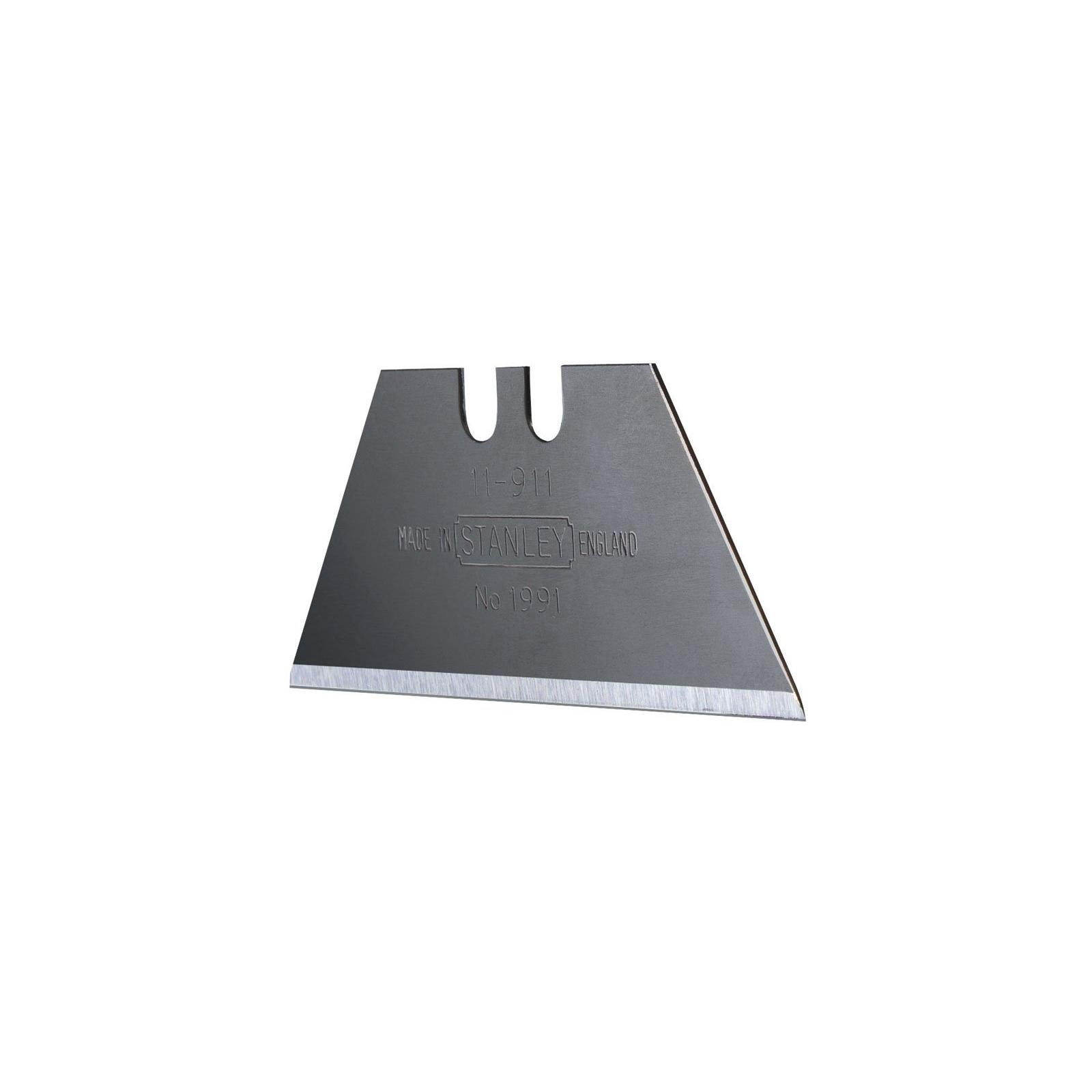 Лезвие Stanley трапецевидные 1991, длина 50мм, 5шт (0-11-911) изображение 2