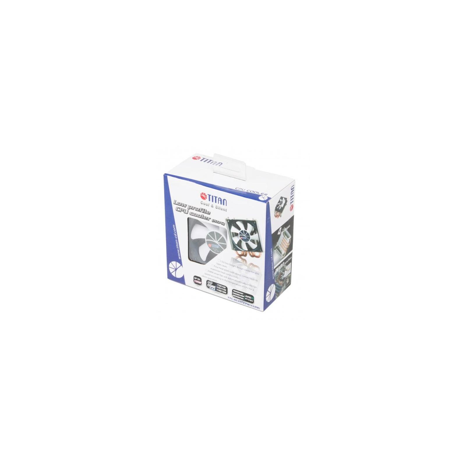 Кулер для процессора Titan TTC-NC25TZ/PW/V2(RB) изображение 4