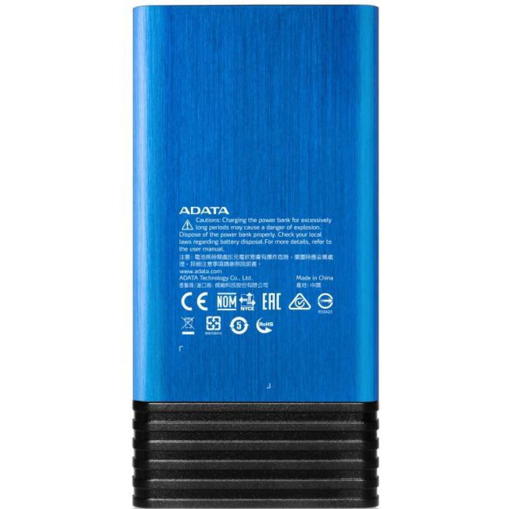 Батарея универсальная ADATA X7000 7000mAh Blue (AX7000-5V-CBL) изображение 3