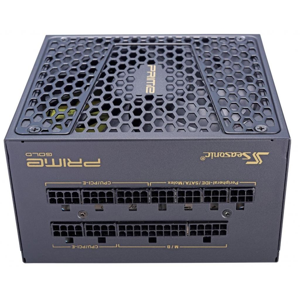 Блок питания Seasonic 550W Prime Ultra Gold (SSR-550GD2) изображение 4