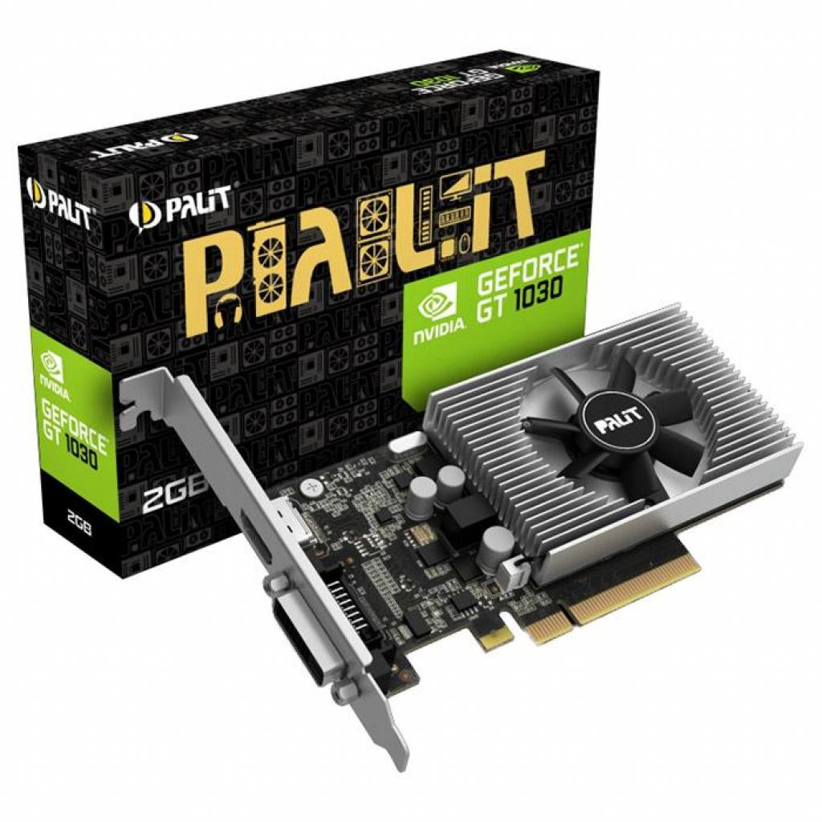 Видеокарта GeForce GT1030 2048Mb PALIT (NEC103000646-1082F)