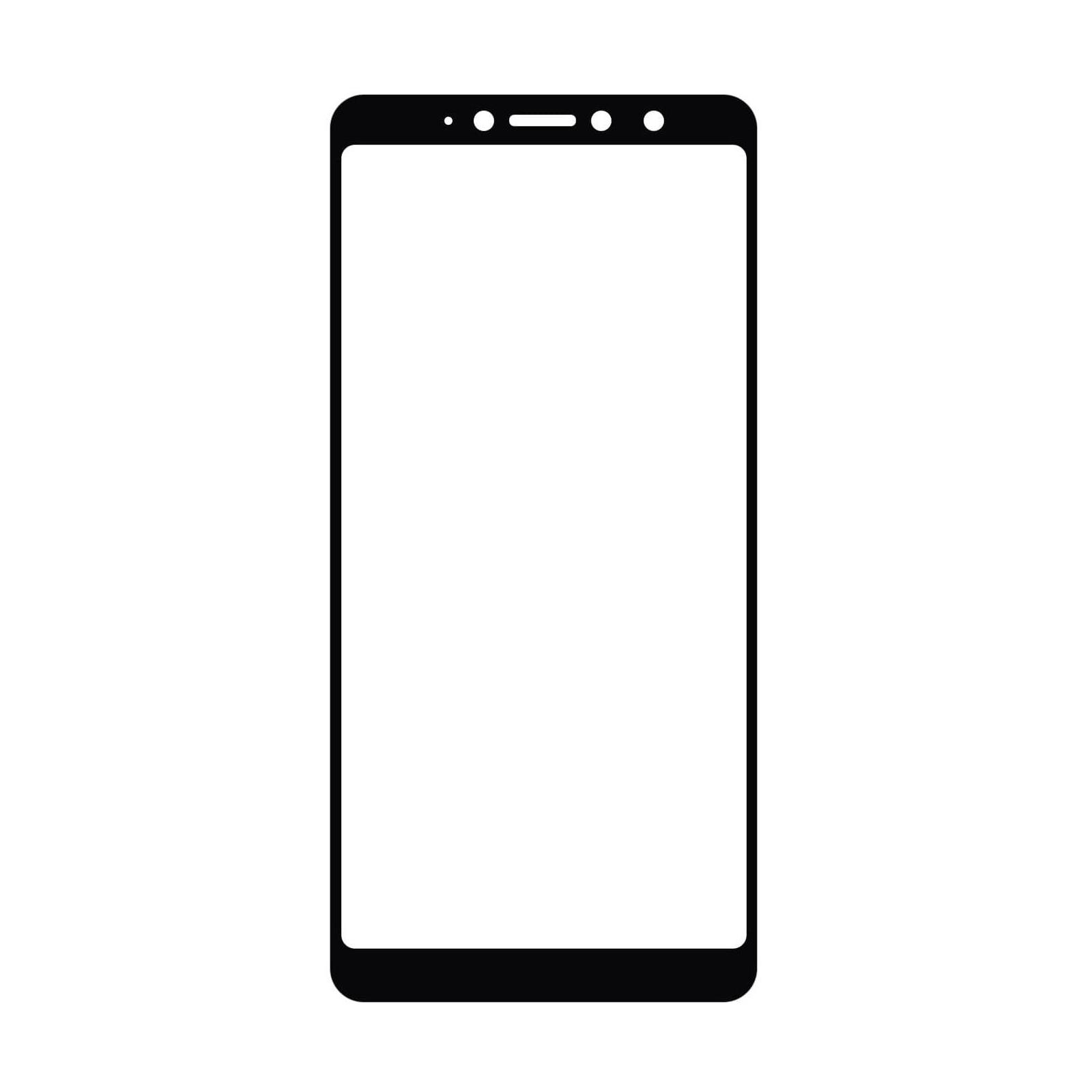 Стекло защитное MakeFuture для Xiaomi Redmi S2 Black Full Cover Full Glue (MGFC-XRS2B) изображение 2