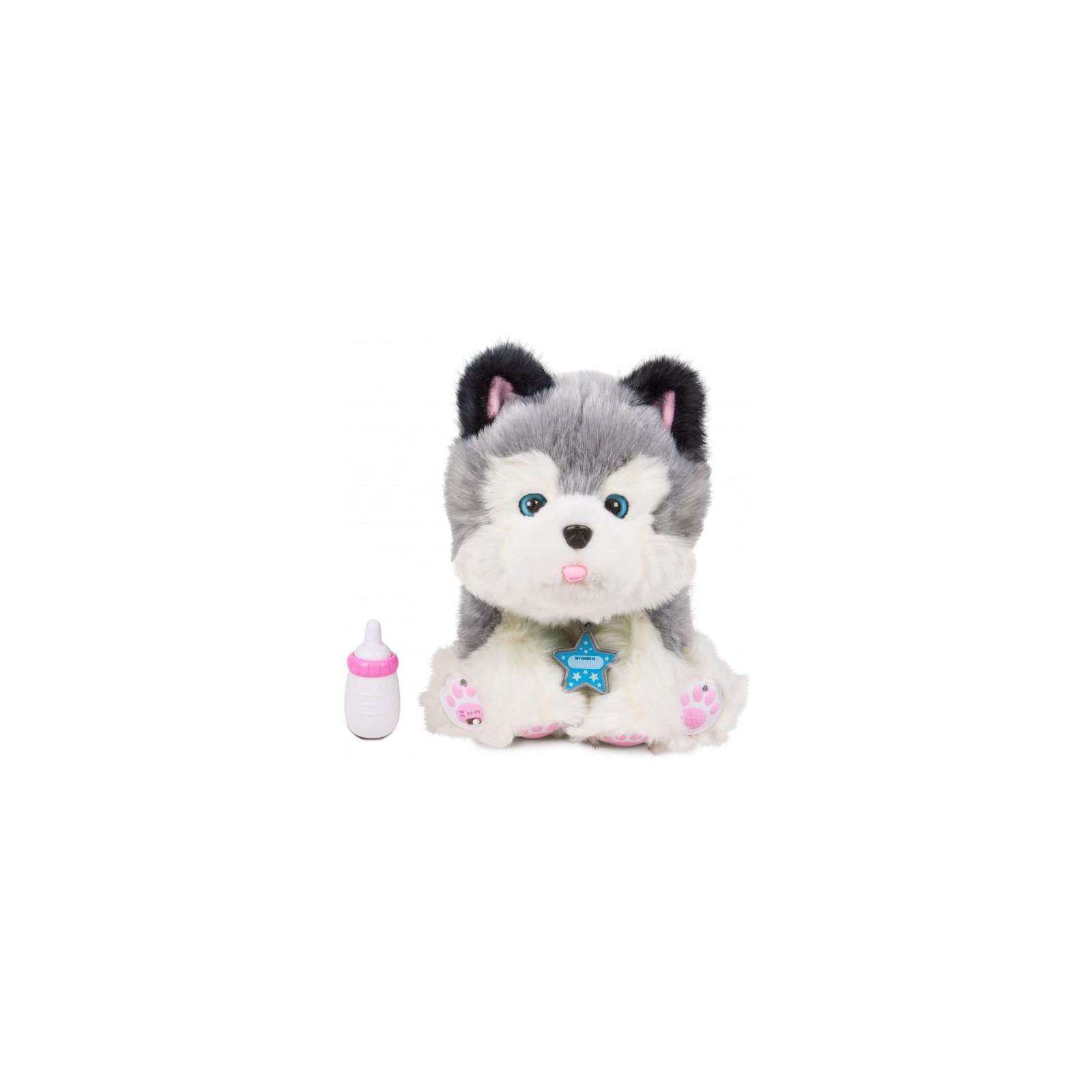 Интерактивная игрушка Moose Little Live Pets Ласковый щенок хаски Фрости (28278) изображение 2