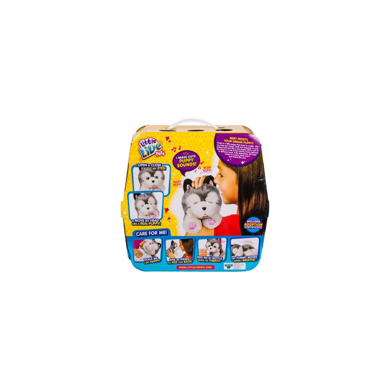 Интерактивная игрушка Moose Little Live Pets Ласковый щенок хаски Фрости (28278) изображение 6