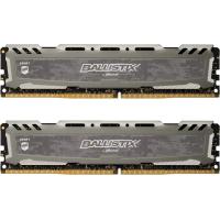 Модуль памяти для компьютера DDR4 32GB (2x16GB) 3000 MHz Ballistix Sport LT Gray MICRON (BLS2K16G4D30AESB)