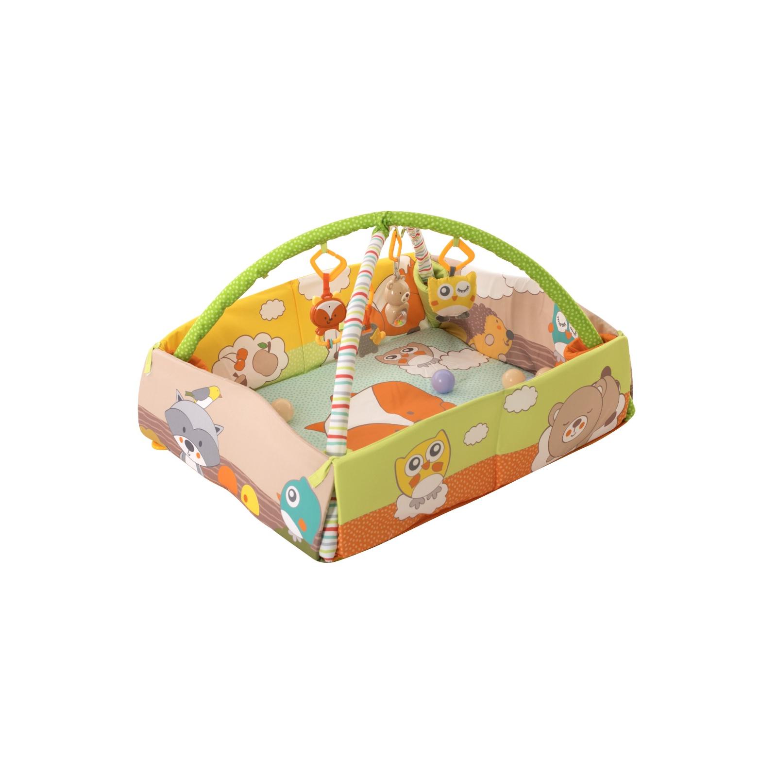 Детский коврик Baby Team с дугами и бортиками (8566) изображение 2