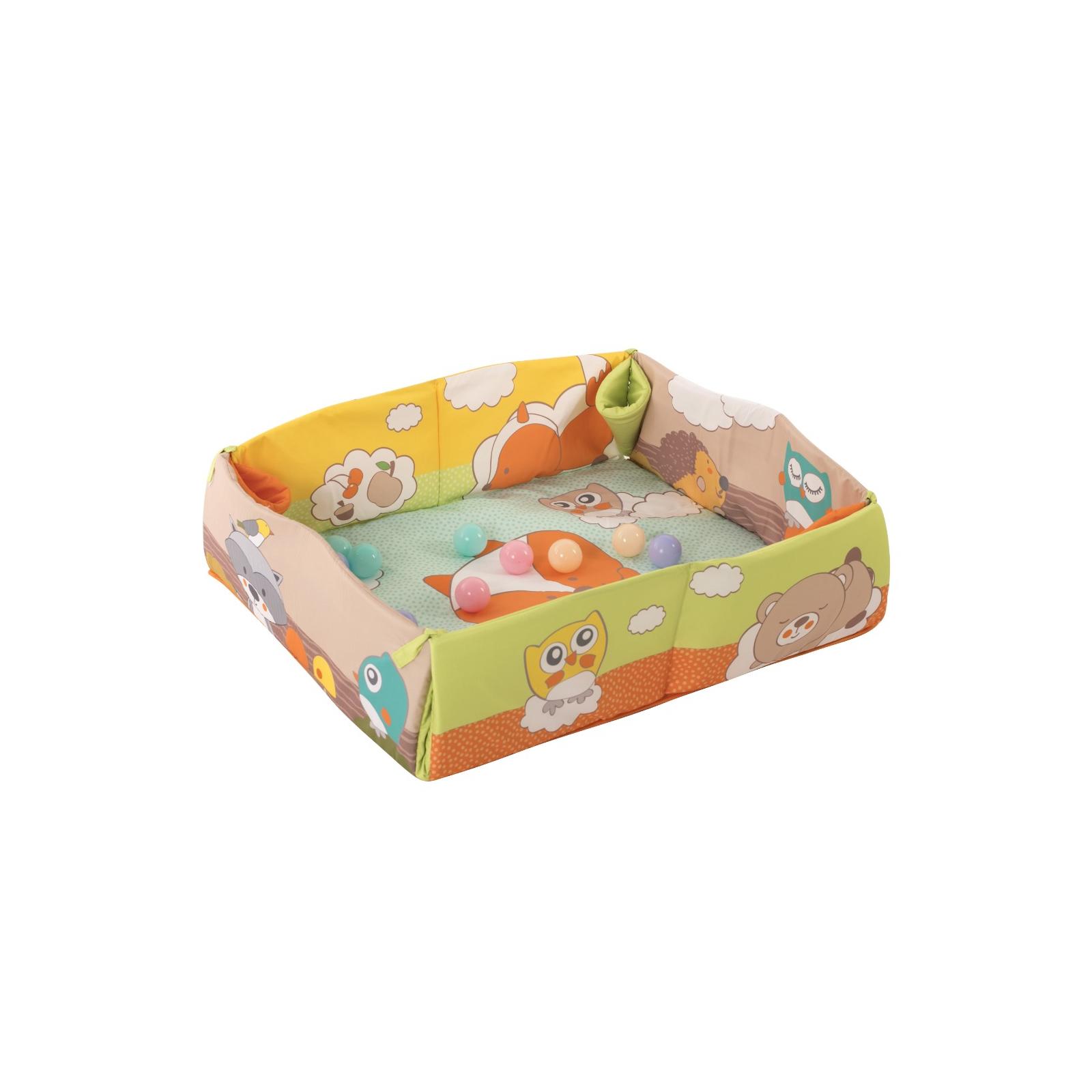 Детский коврик Baby Team с дугами и бортиками (8566) изображение 3