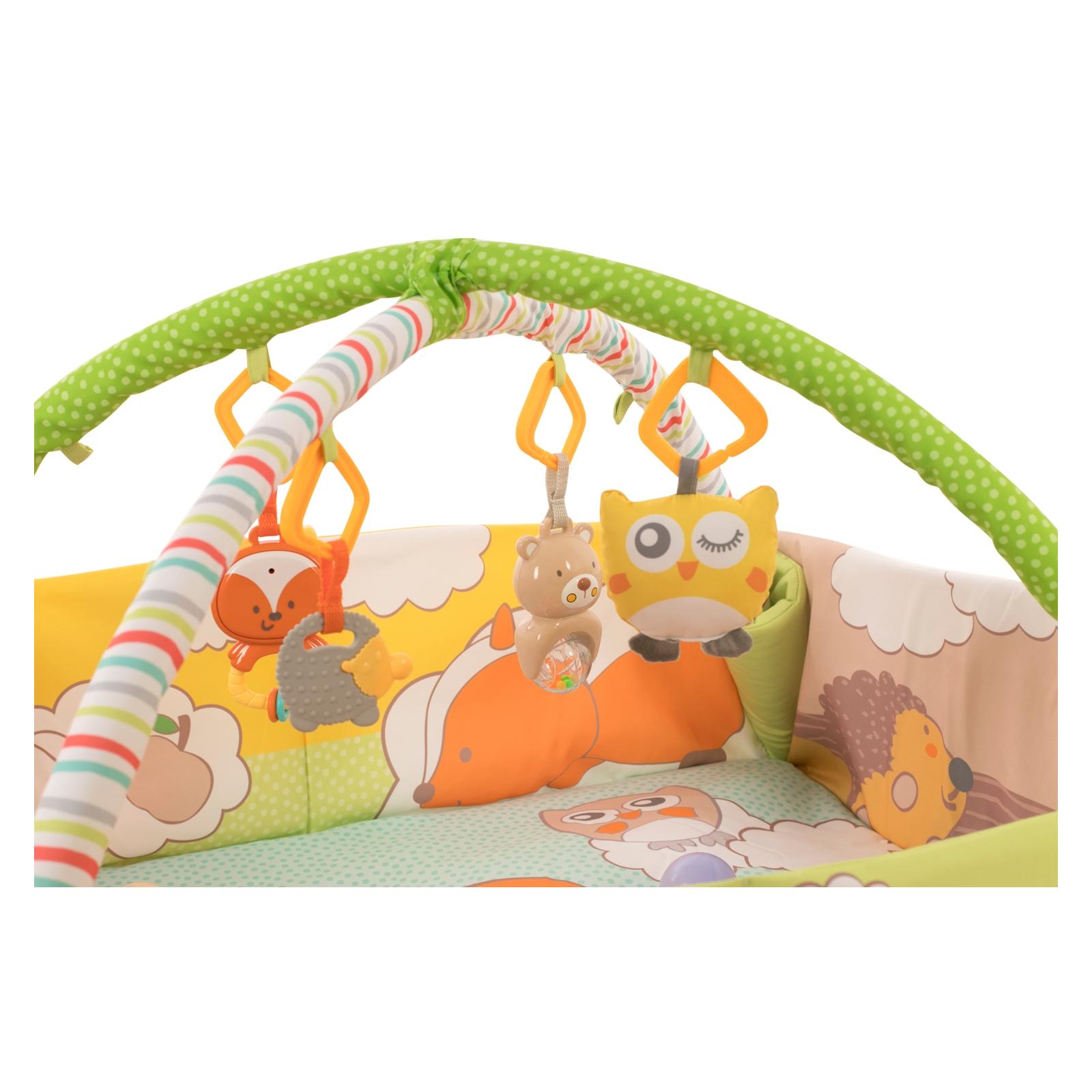Детский коврик Baby Team с дугами и бортиками (8566) изображение 5