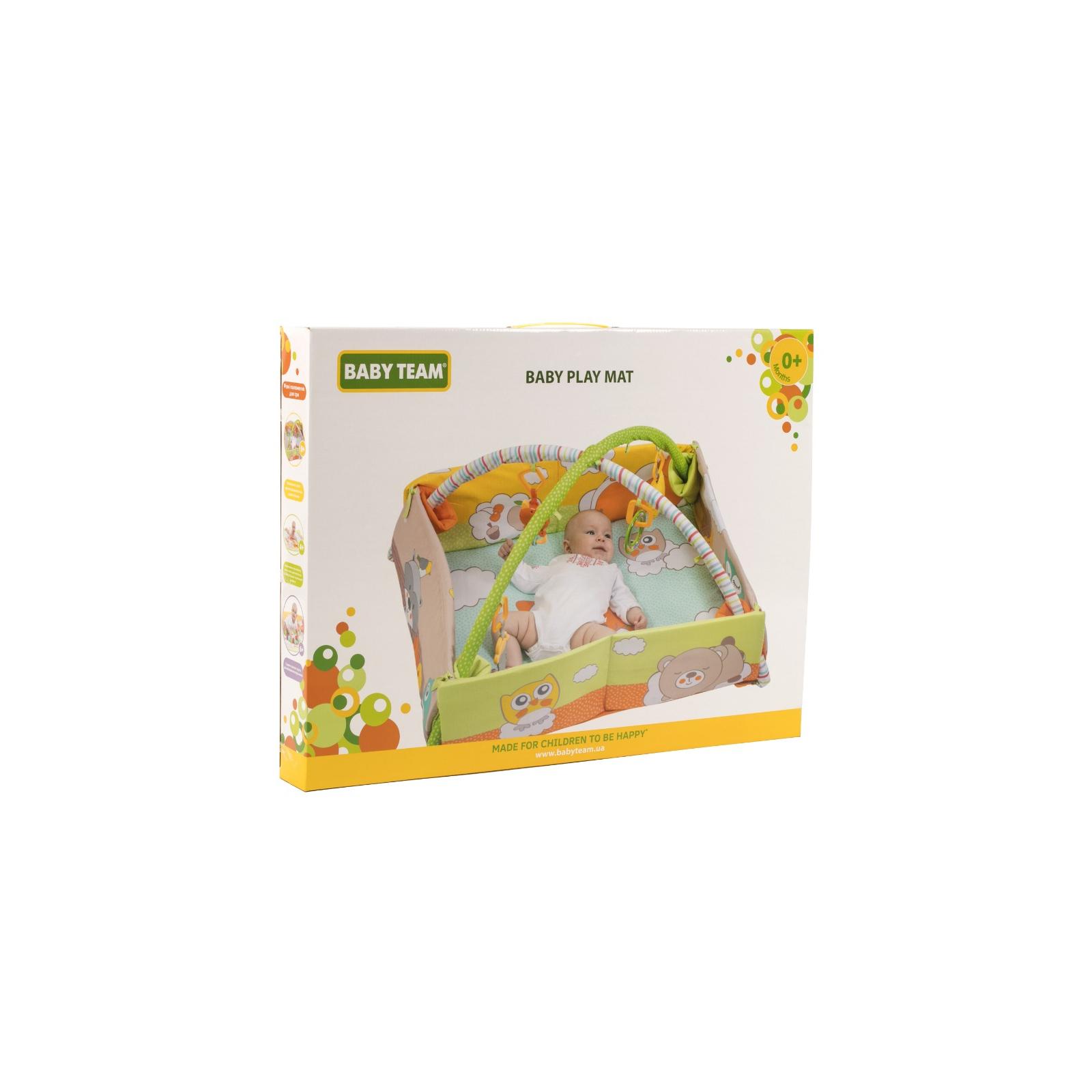 Детский коврик Baby Team с дугами и бортиками (8566) изображение 6