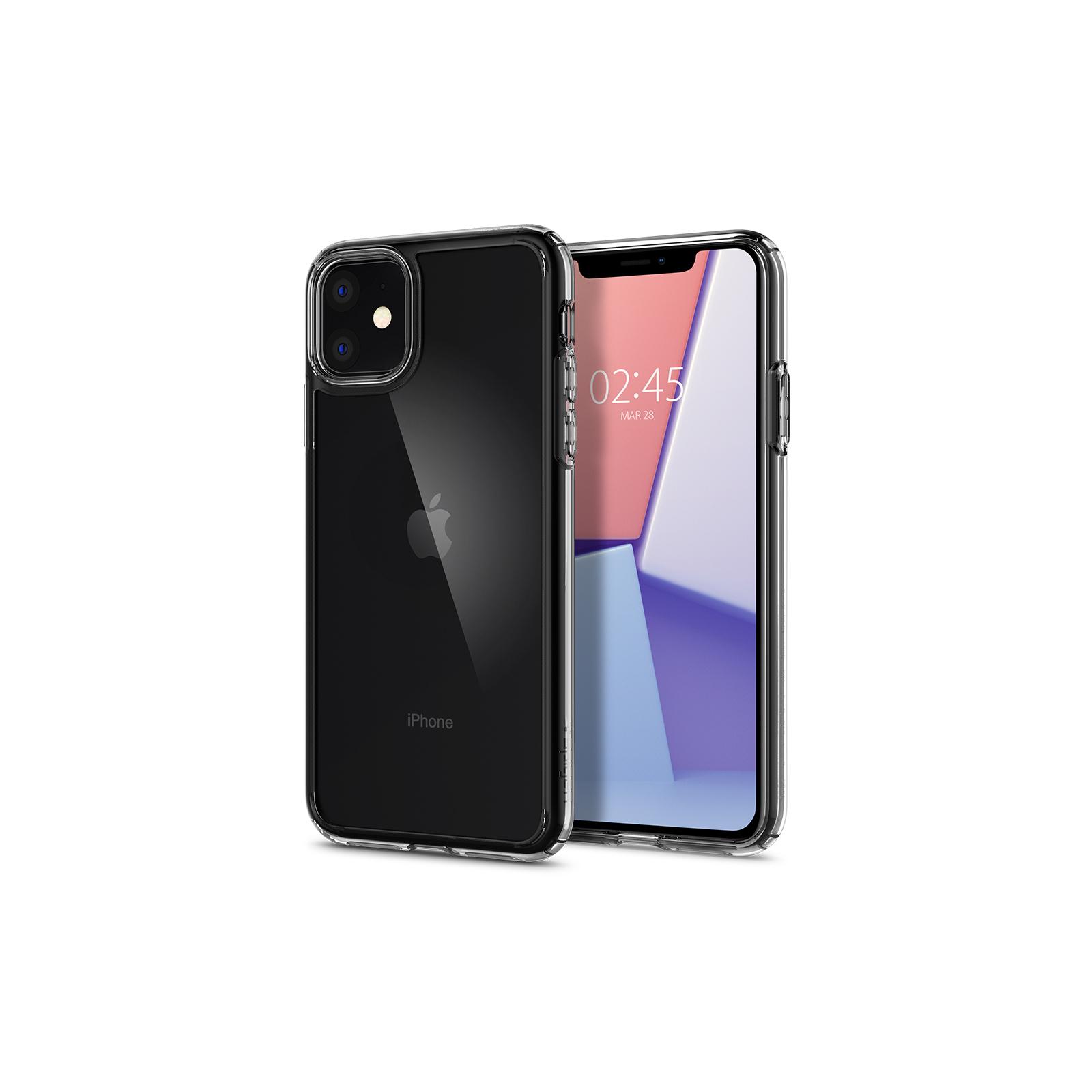 Чехол для моб. телефона Spigen iPhone 11 Crystal Hybrid, Crystal Clear (076CS27086) изображение 2