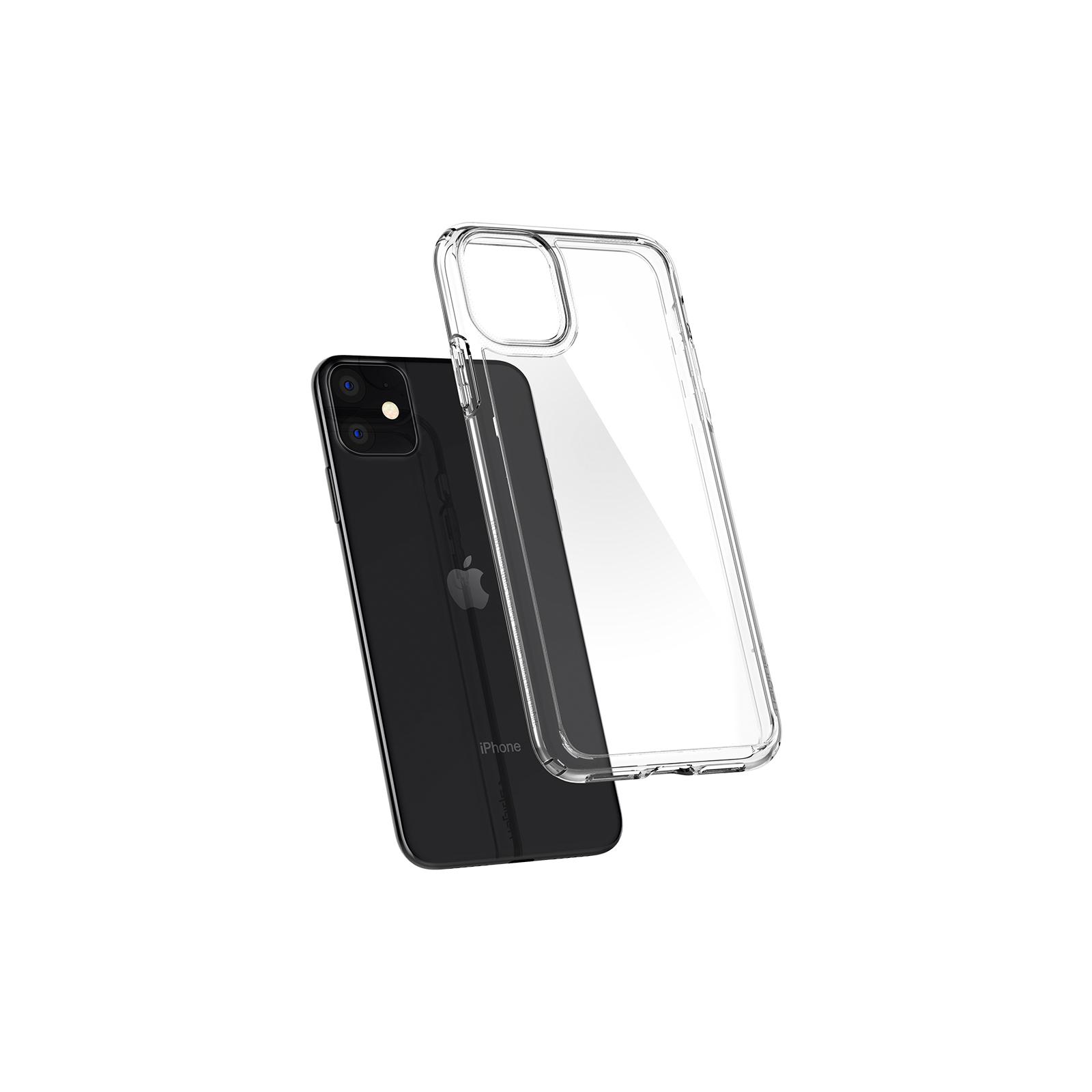 Чехол для моб. телефона Spigen iPhone 11 Crystal Hybrid, Crystal Clear (076CS27086) изображение 4