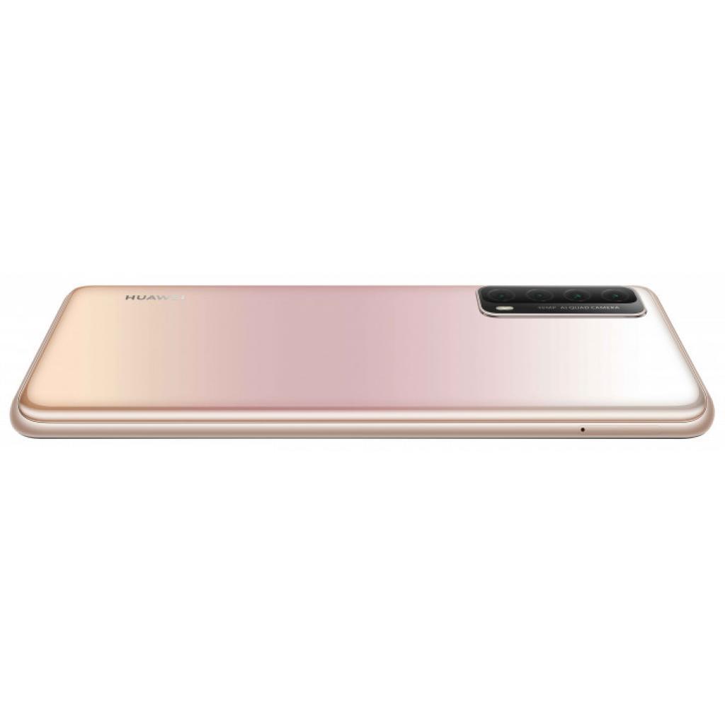Мобільний телефон Huawei P Smart 2021 4/128Gb Blush Gold (51096ACA) зображення 9