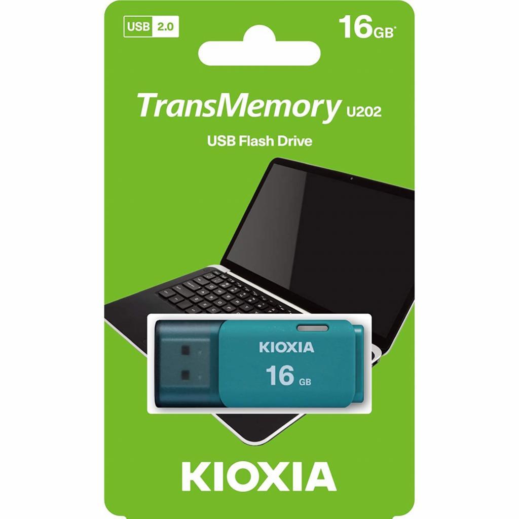 USB флеш накопитель Kioxia 32GB U202 Blue USB 2.0 (LU202L032GG4) изображение 3