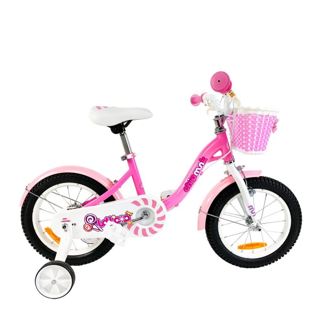 """Детский велосипед Royal Baby Chipmunk MM Girls 16"""", Official UA, розовый (CM16-2-pink)"""