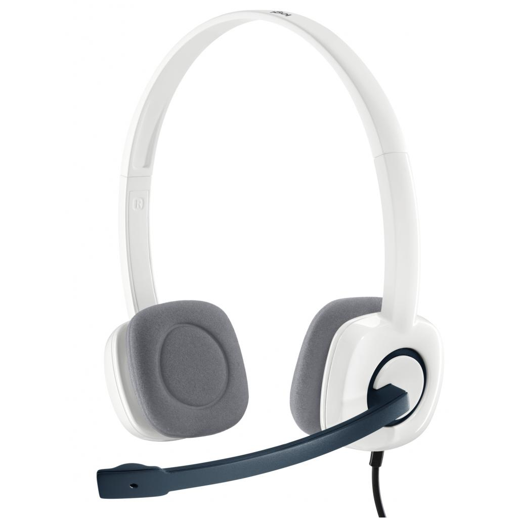 Наушники Logitech H150 Cloud White (981-000350)
