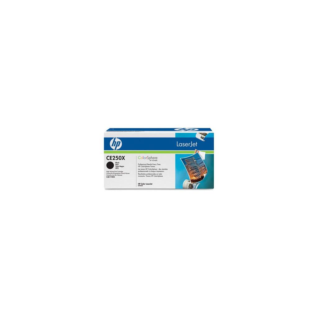 Картридж HP CLJ CM3530/ CP3525 Black (CE250X)