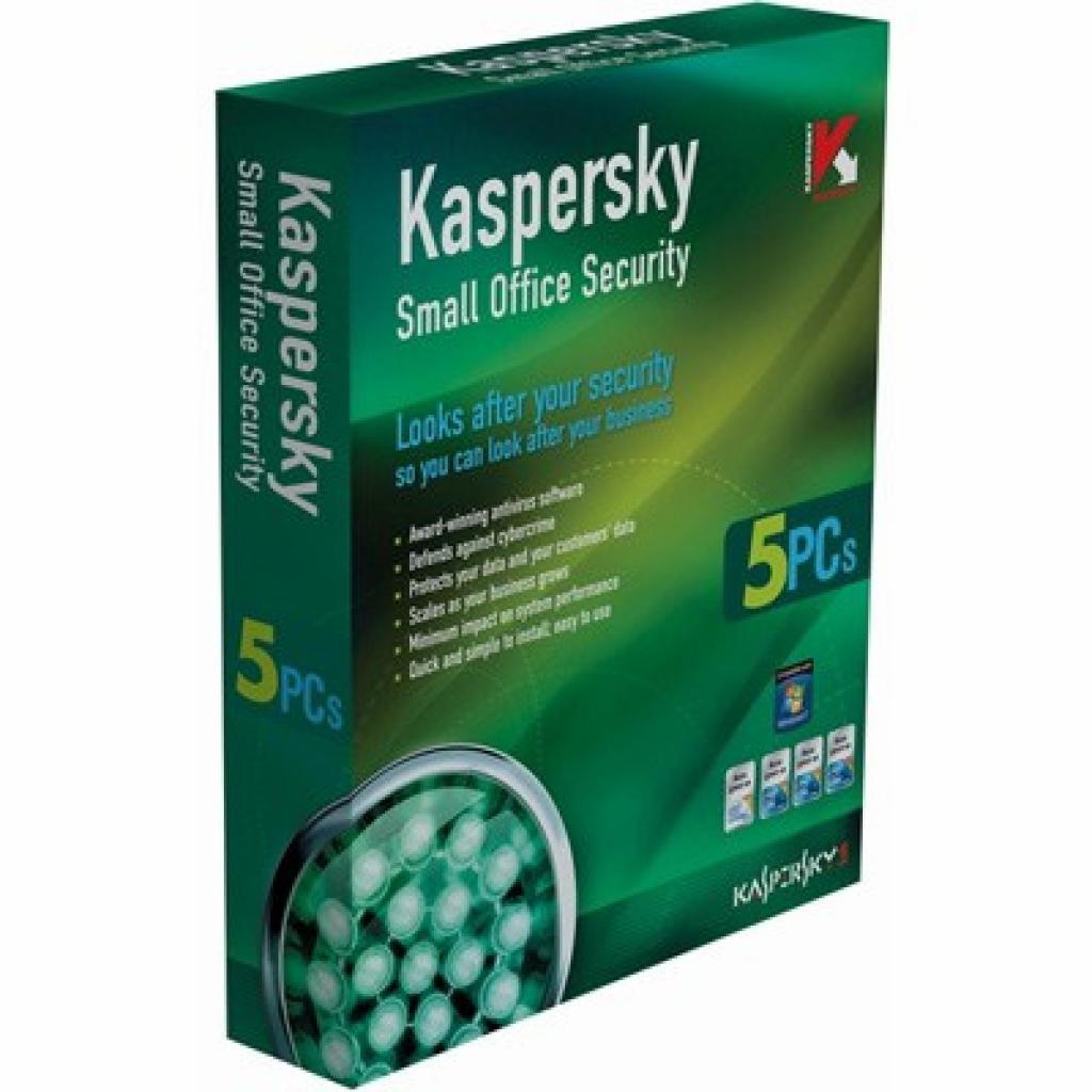 Программная продукция Small Office Security 2 for PC Kaspersky (KL2128LCE)