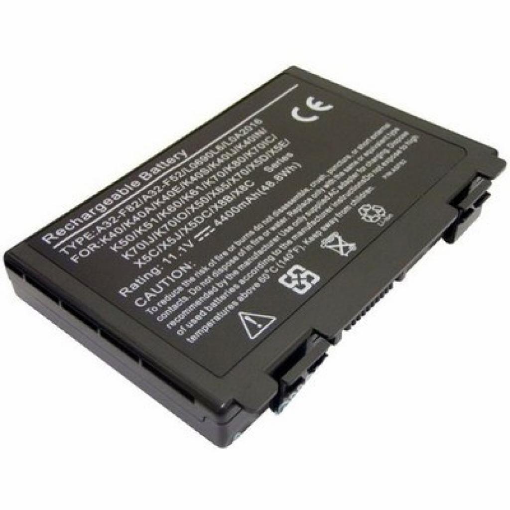 Аккумулятор для ноутбука Asus A32-F82 K40 BatteryExpert (A32-F82 L 52)