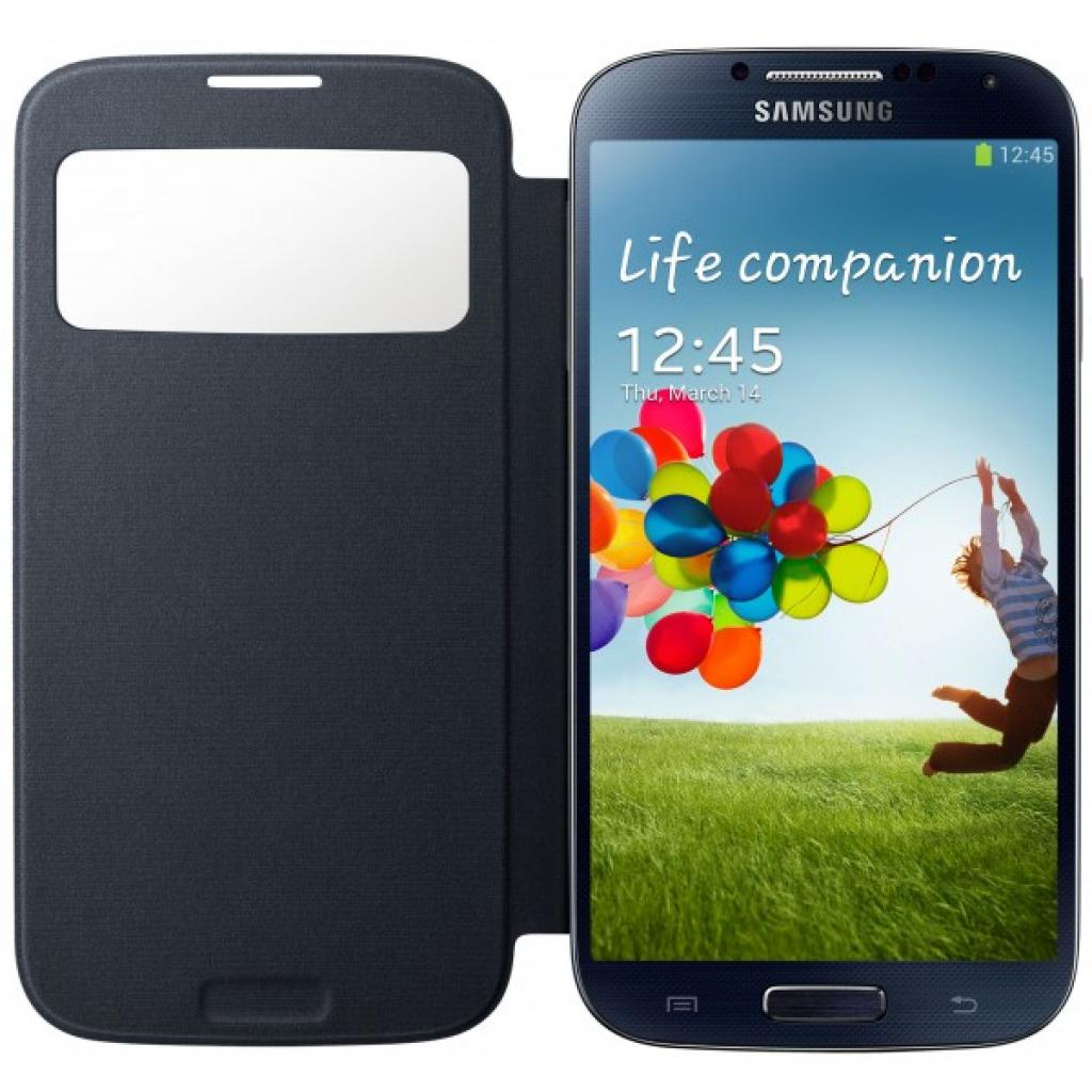 Чехол для моб. телефона Samsung I9500 Galaxy S4 S-View Cover black (EF-CI950BBEGWW) изображение 1