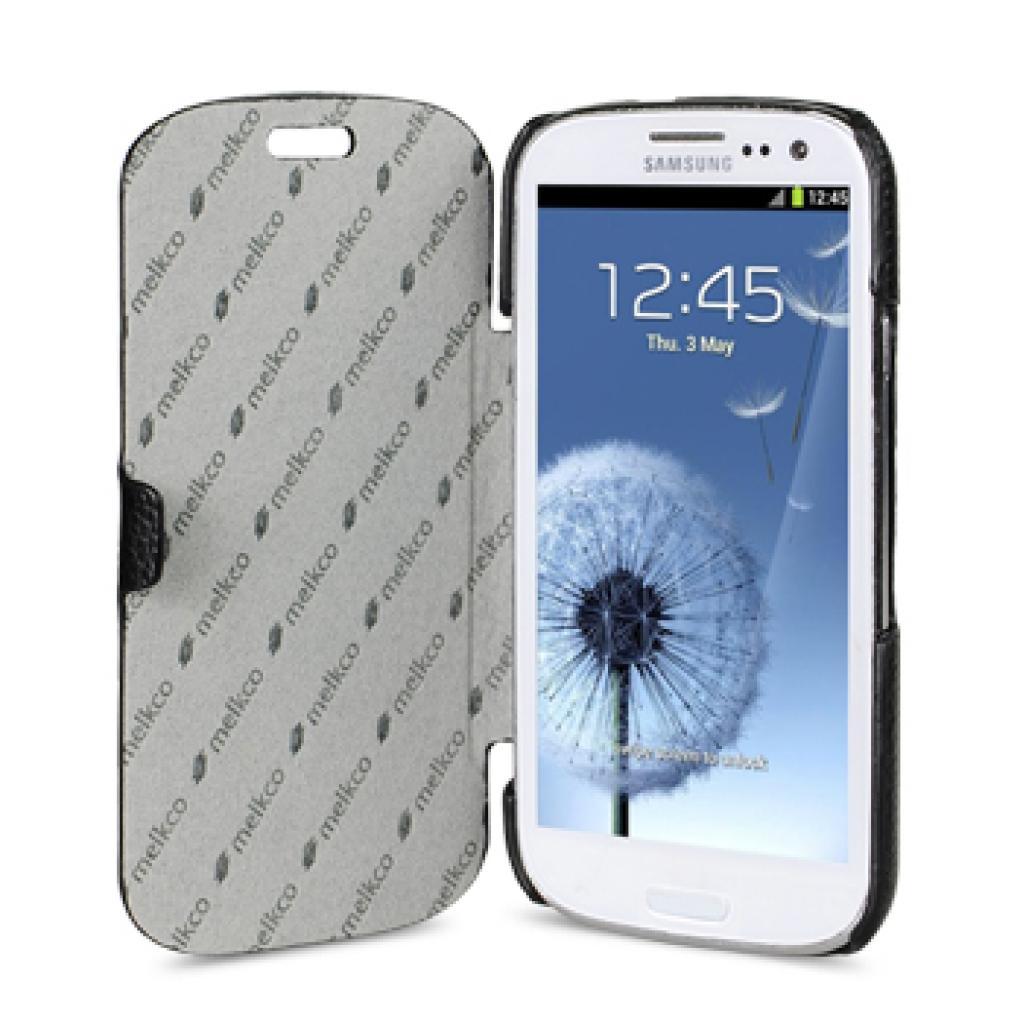 Чехол для моб. телефона Melkco для Samsung I9300 GALAXY S III /Book/Black (SSGY93LCJB1BKLC) изображение 3
