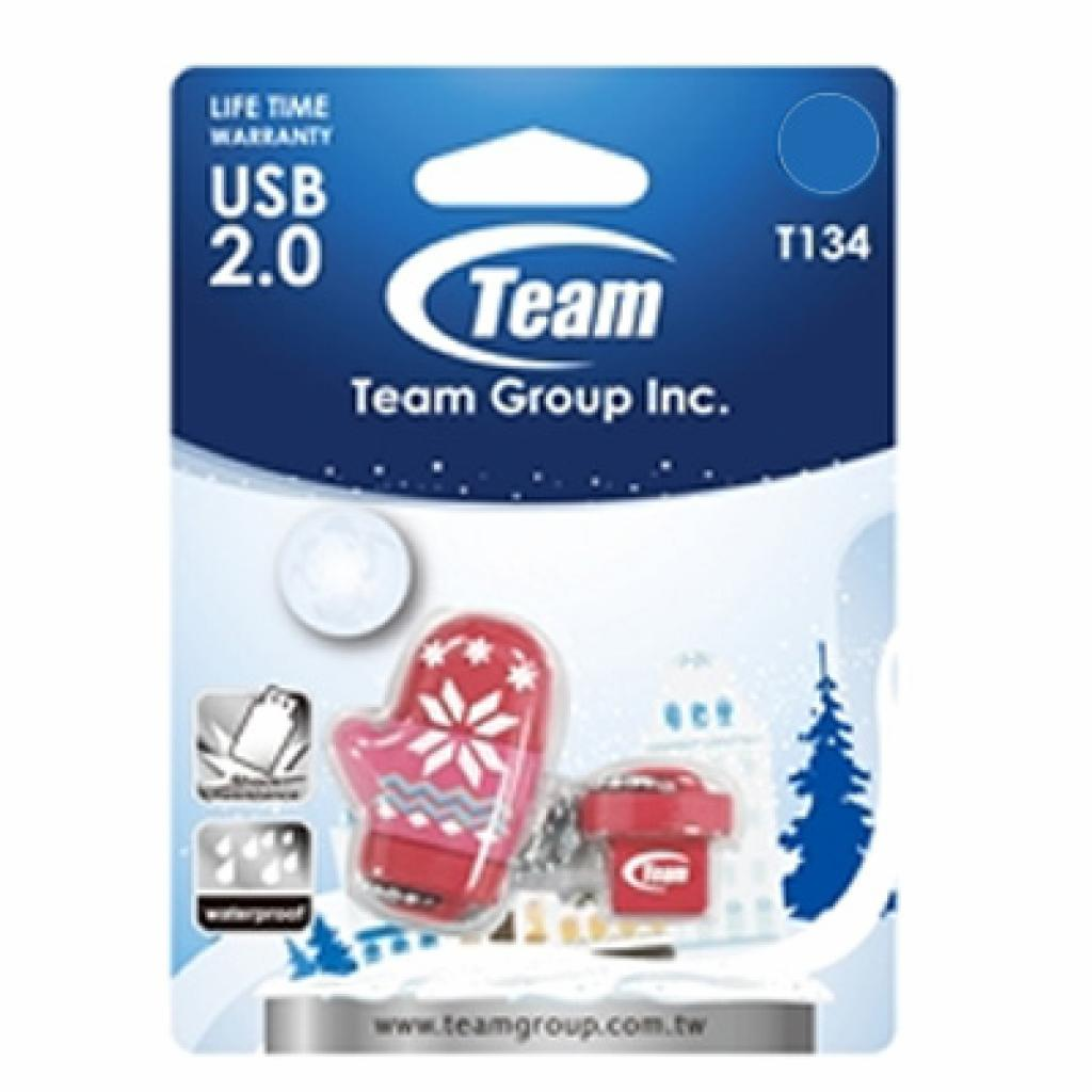 USB флеш накопитель Team 16Gb T134 pink (TT13416GK01) изображение 2