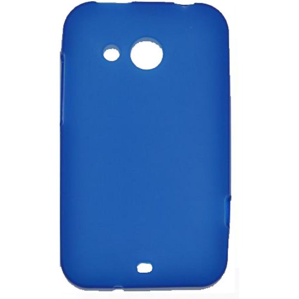 Чехол для моб. телефона Mobiking HTC Desire 200 Blue/Silicon (24817)
