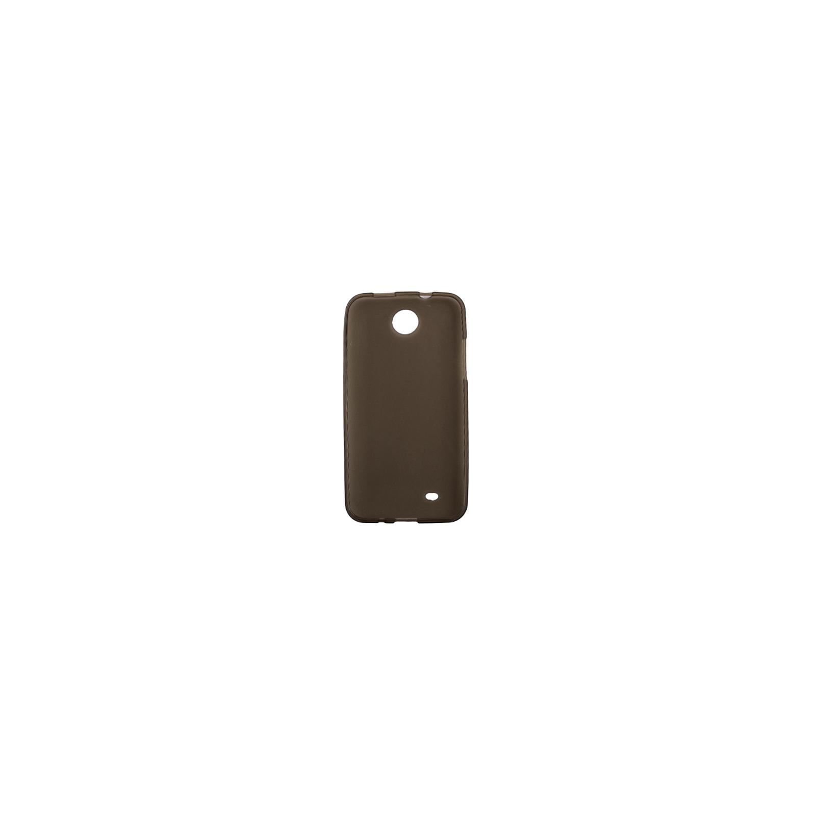Чехол для моб. телефона Drobak для HTC Desire 300 /ElasticPU/GreyClear (218867) изображение 2