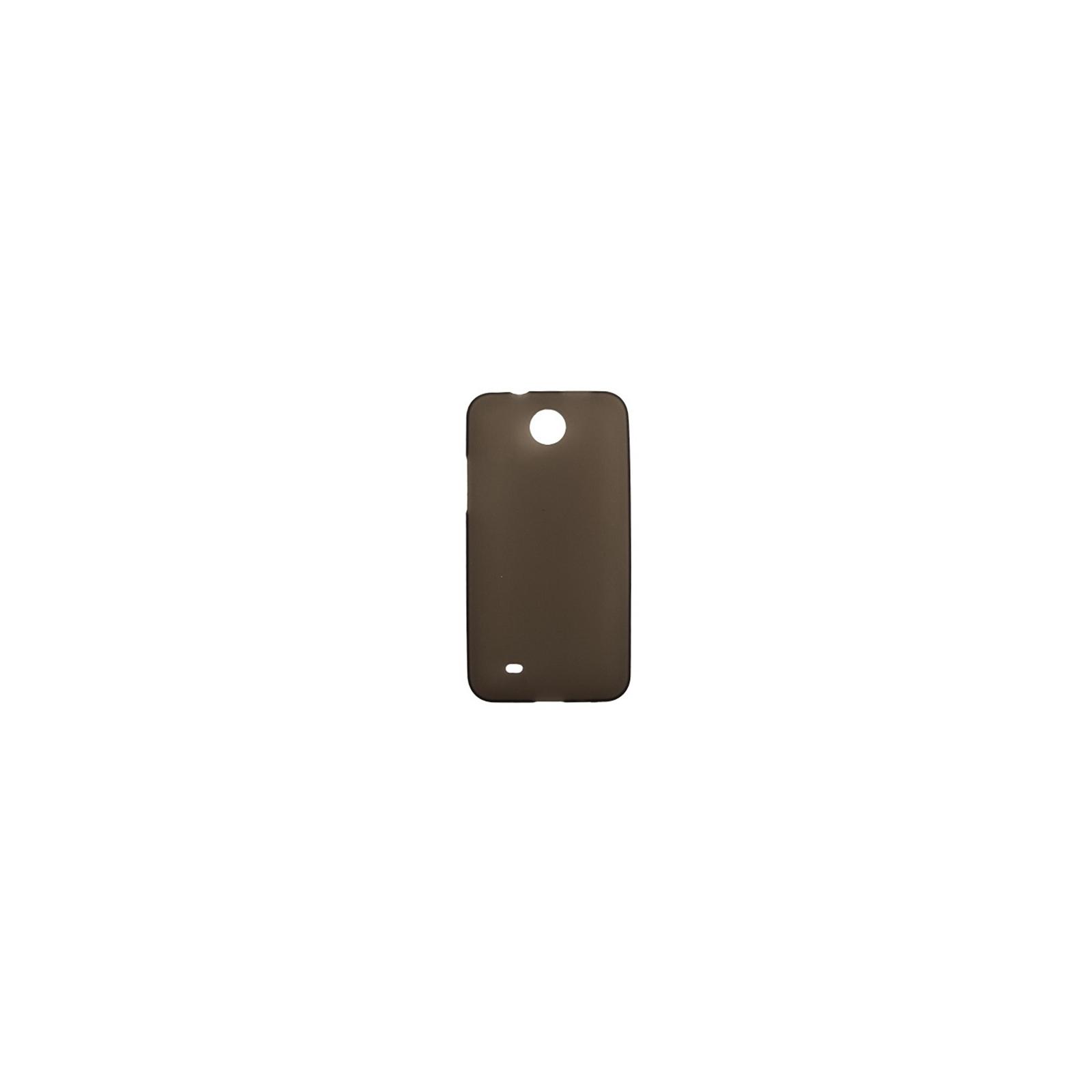 Чехол для моб. телефона Drobak для HTC Desire 300 /ElasticPU/GreyClear (218867)