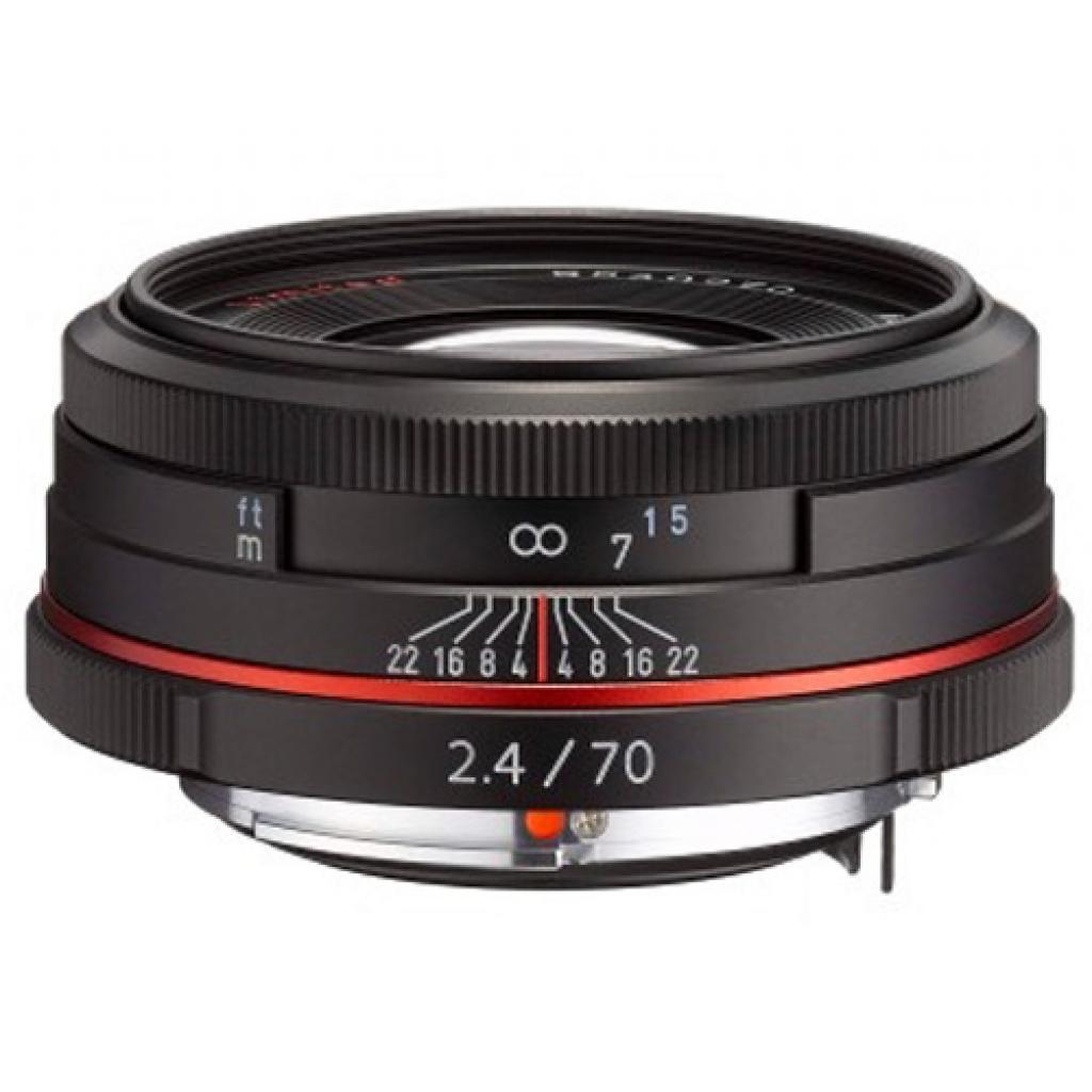 Объектив Pentax HD DA 70mm f/2.4 Limited Black (21430)