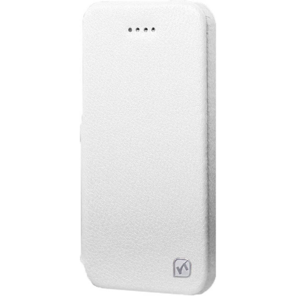 Чехол для моб. телефона HOCO для iPhone 5/5S /Duke Folder (HI-L045 White)