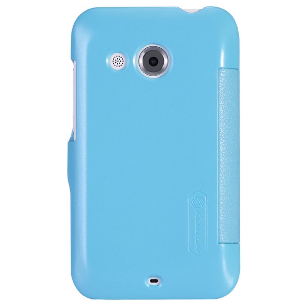 Чехол для моб. телефона NILLKIN для HTC Desire 200 /Fresh/ Leather/Blue (6076827) изображение 2