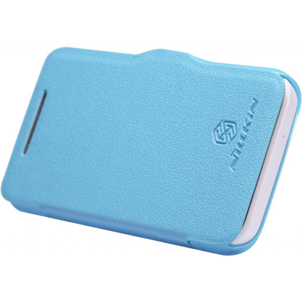 Чехол для моб. телефона NILLKIN для HTC Desire 200 /Fresh/ Leather/Blue (6076827) изображение 3